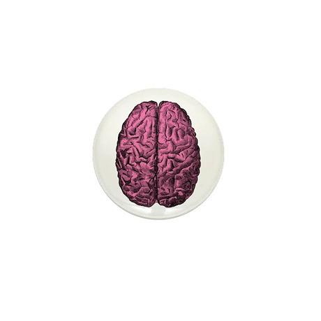 Human Anatomy Brain Mini Button