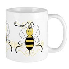 Smiling Bumble Bee Queen Bee Small Mug