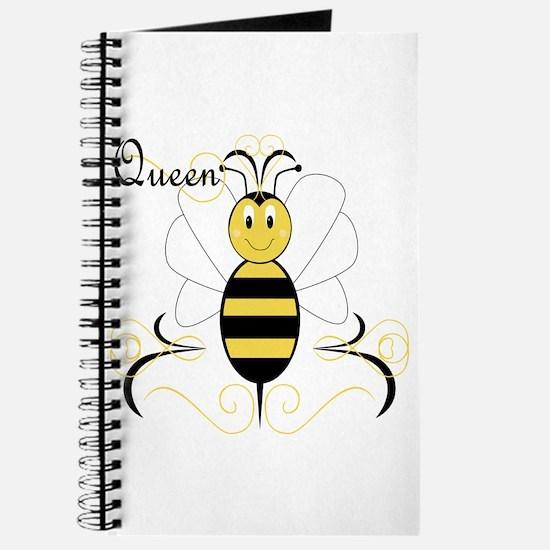 Smiling Bumble Bee Queen Bee Journal