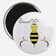 "Smiling Bumble Bee Queen Bee 2.25"" Magnet (10 pack"