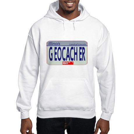 Geocacher Illinois Hooded Sweatshirt