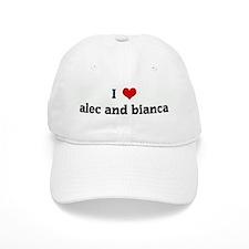 I Love alec and bianca Baseball Cap