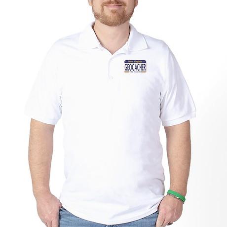 Geocacher West Virginia Golf Shirt