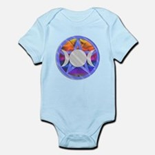 Pentagram Triple Goddess Infant Bodysuit