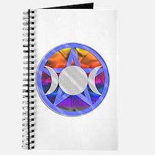 Pentagram Triple Goddess Journal