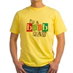 I'm A Boob Man Yellow T-Shirt