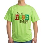I'm A Boob Man Green T-Shirt