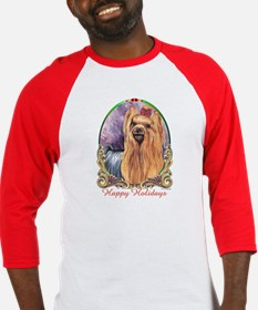 Yorkshire Terrier Holiday Baseball Jersey