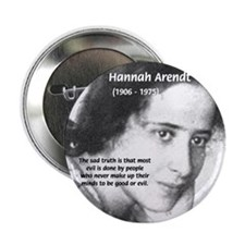 Philosopher: Hannah Arendt Button