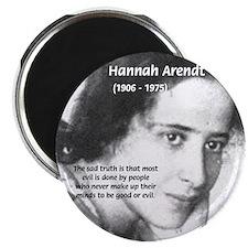 Philosopher: Hannah Arendt Magnet