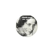 Philosopher: Hannah Arendt Mini Button (10 pack)