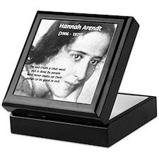 Philosopher: Hannah Arendt Keepsake Box