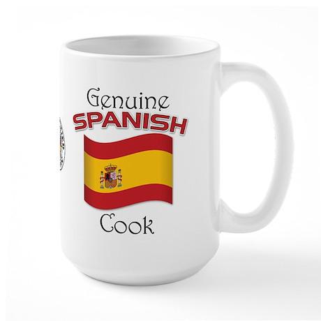 Genuine Spanish Cook Large Mug