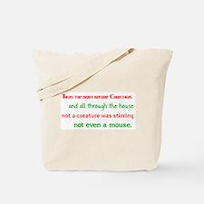 Night Before Christmas Tote Bag