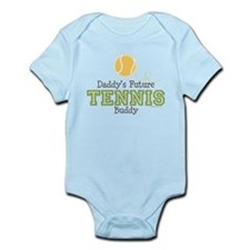 Daddy's Future Tennis Buddy Infant Bodysuit