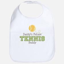 Daddy's Future Tennis Buddy Bib