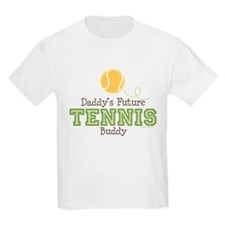 Daddy's Future Tennis Buddy T-Shirt
