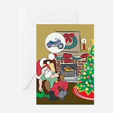 Santas Motorcycle Greeting Cards (Pk of 20)