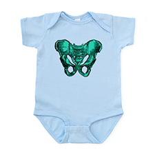Human Anatomy Pelvis Infant Bodysuit