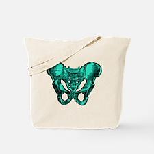 Human Anatomy Pelvis Tote Bag