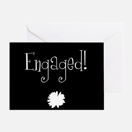 Engaged! Greeting Card