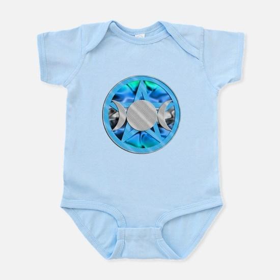 Pentagram Triple Goddess Infant Bodysuit