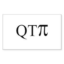 QTPi Rectangle Decal