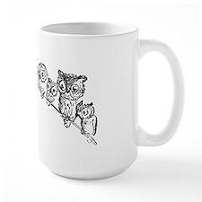 Relaxing Owls Mug
