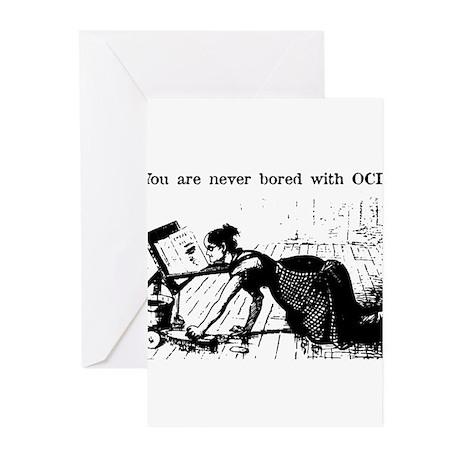 OCD Reader Greeting Cards (Pk of 20)