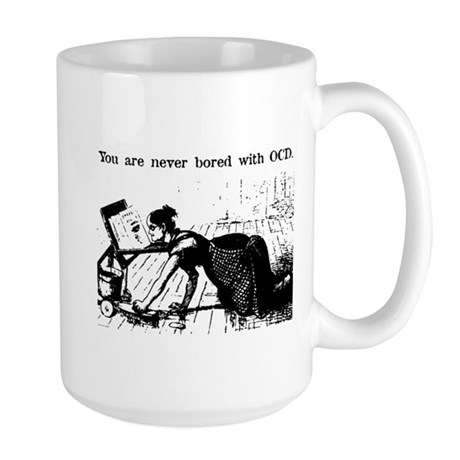 OCD Reader Large Mug