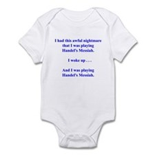 I had this nightmare . . . Infant Bodysuit
