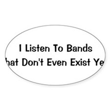 Bands Oval Decal