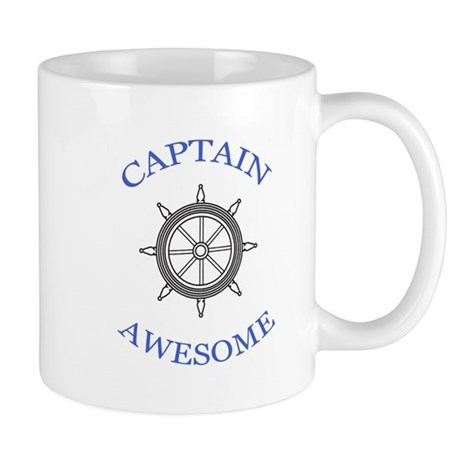 """""""Captain"""" Awesome Mug"""