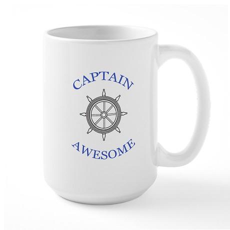 """""""Captain Awesome"""" Large Mug"""