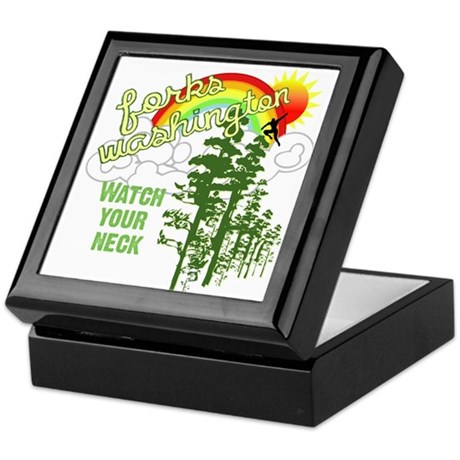 Forks Washington Twilight Keepsake Box