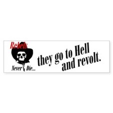 rockabilly rebel Bumper Bumper Sticker