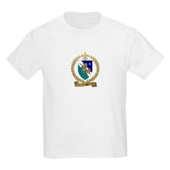 VALLEE Family Crest Kids T-Shirt