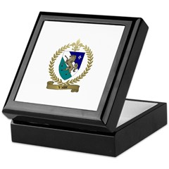 VALLEE Family Crest Keepsake Box
