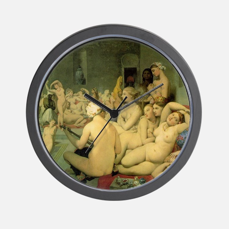 The Turkish Bath Wall Clock