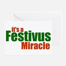 Festivus Miracle Greeting Card