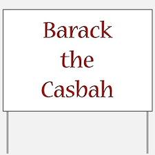 Cute Barack casbah Yard Sign