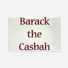 Funny Barack casbah Rectangle Magnet