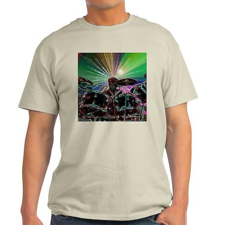Starburst Drum Rocker Light T-Shirt
