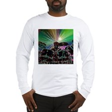 Starburst Drum Rocker Long Sleeve T-Shirt