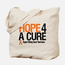 Kidney Cancer Hope4aCure Tote Bag