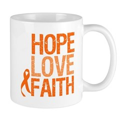 Kidney Cancer HopeLoveFaith Mug