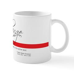 Emerson Quote - Change Mug