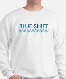 Blue Shift (front) Red Shift Sweatshirt
