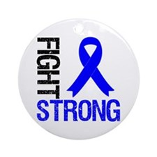 FightStrong ColonCancer Ornament (Round)
