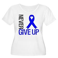 NeverGiveUp Colon Cancer T-Shirt